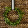 Simple Boxwood DIY Wreath
