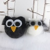 Fuzzy Felt Owl Ornaments