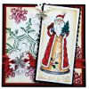 Forest Santa Stamped Card