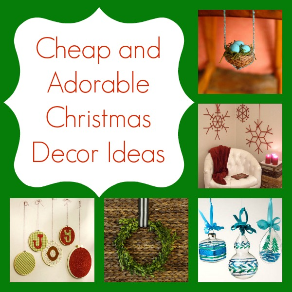 38 cheap and adorable christmas decor ideas for Cheap diy christmas crafts
