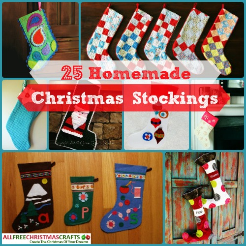 25 Homade Christmas Stockings