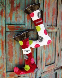 Whimsical Christmas Stocking
