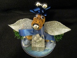 Recyled Champagne Cork Bear