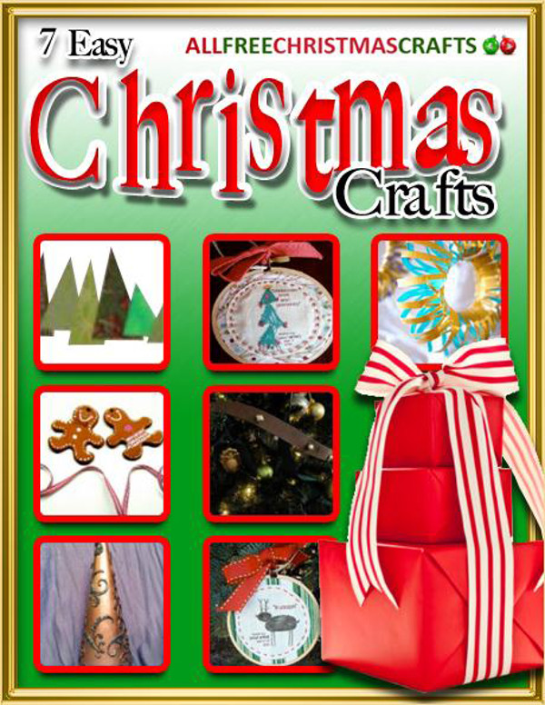7 Easy Christmas Crafts eBook