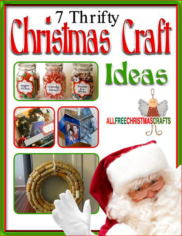 7 thrifty christmas craft ideas ebook for Christmas crafts and gifts