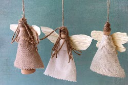 Earth Angel Ornaments