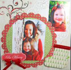 xmas layout 1 Commemorative Crafts to Remember the Holidays