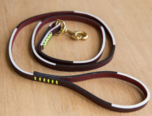 DIY Graphic Leather Dog Leash DIY Dog Leash: 12 Days of Christmas Giveaway