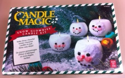 Candle Magic Snow Glowbies Candle Kit