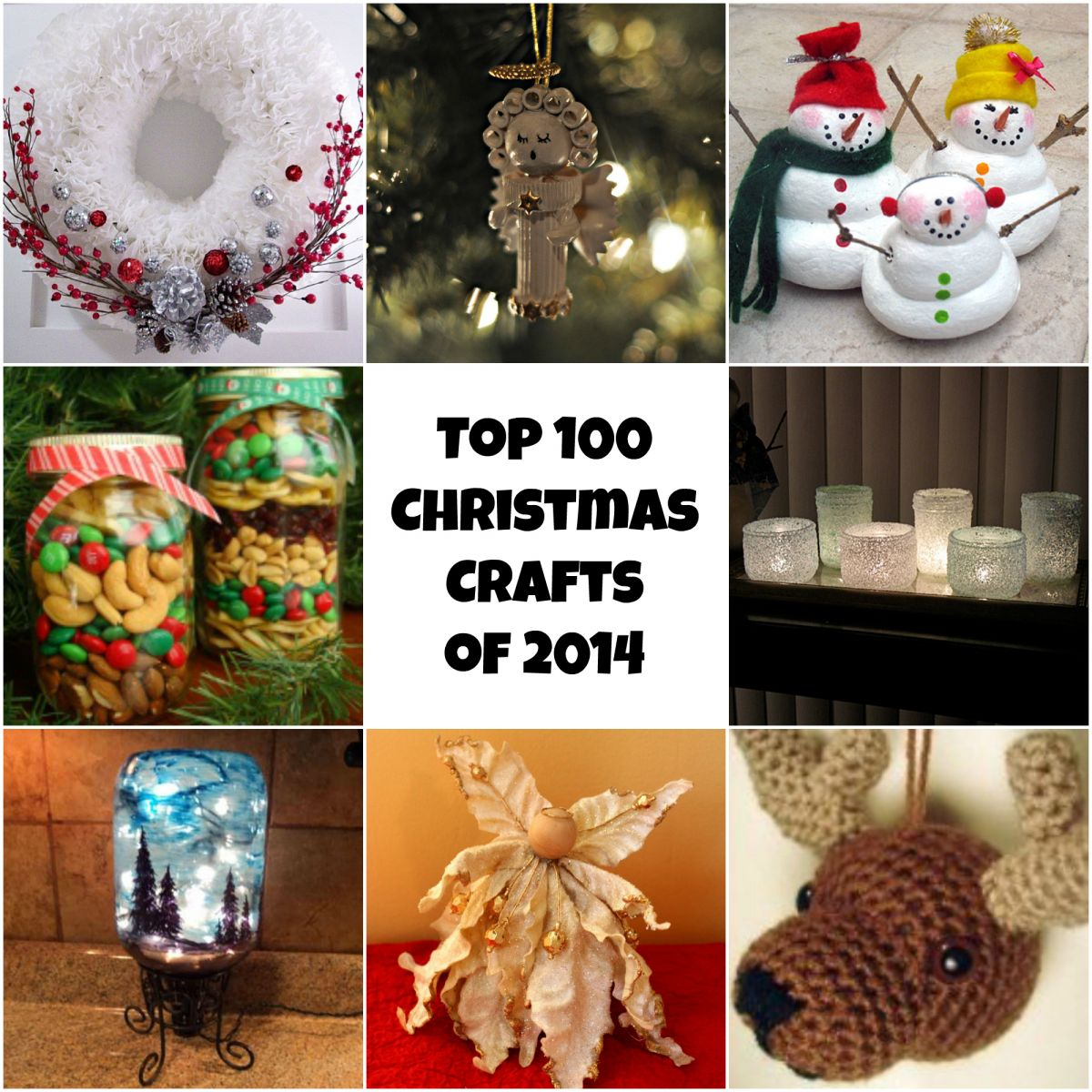 Handmade christmas decorations to sell - Top 100 Diy Christmas Crafts Of 2014 Homemade Christmas