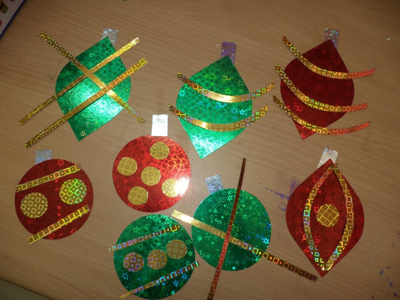christmas ornaments banner - photo #16