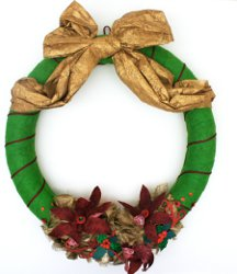 crinkle wreath 12 Days of Christmas Giveaway: Day Eleven Enter To Win